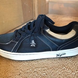 NWT Original Penguin Men's Front Sneakers size 10